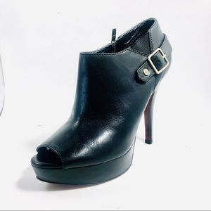 Women's Enzo Angiolini Ankle Boots Open Toe.
